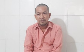 被捕的竊賊陳文登。(圖源:仕興)