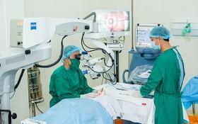 市眼科醫院將於本月27至31日為政策優撫對象開展減免院費、以治療白內障的手術活動。(示意圖源:寶明)