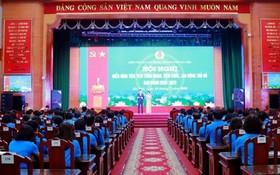 2020-2025年階段首都工人、職員、勞動者先進模範會議現場。(圖源:明珠)