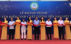 越南燕窩檢驗中心落成儀式。
