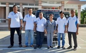和寧鄉慈善轉院急救車組成員們。