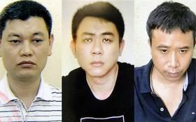 被起訴的 3名嫌犯,左圖起依次為阮英玉、阮煌忠及范光勇。(圖源:警方提供)