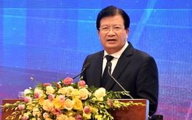 政府副總理鄭廷勇在會上發表講話。(圖源:VGP)