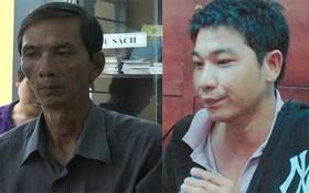 被拘留的兩名嫌犯范世海(左圖)及阮黃山。(圖源:警方提供)