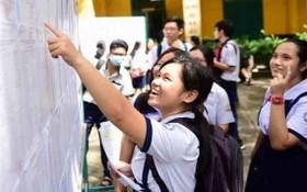 考生查詢考試成績。(示意圖源:VNN)