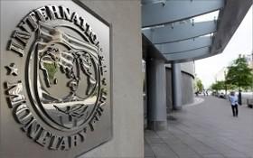 圖為 IMF總部大樓。(圖源:CBS News)