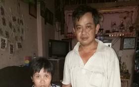 冼晉國與患上憂鬱症的妻子黃氏映梅。