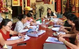 海南話培訓班上課一瞥。
