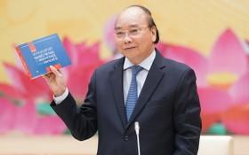 阮春福總理在會上致詞。(圖源:光孝)