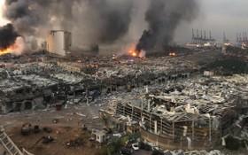 港口多幢建築物嚴重損毀。(圖源:Getty Images)