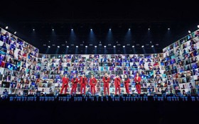 """圖為韓國SM娛樂公司今年起推出""""Beyond LIVE""""系列線上演唱會。(圖源:SM娛樂公司)"""