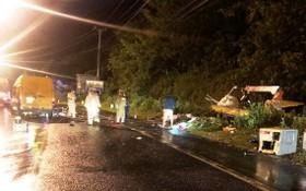 交警趕抵現場勘查事故原因。(圖源:TQ)