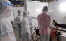 仙山野戰醫院試行運作現場。(圖源:視頻截圖)