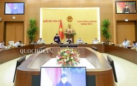國會常務委員會第四十七次會議現場。(圖源:Quochoi.vn)