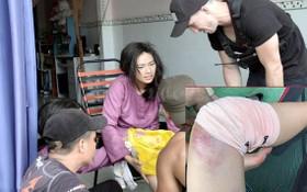 吳青雲飾演二鳳時曾遇到意外導致膝蓋骨裂。