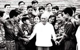 孫伯伯是越南工人階級的先鋒戰士。
