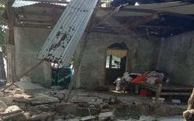 多處房屋和建築遭到嚴重破壞。(圖源:互聯網)