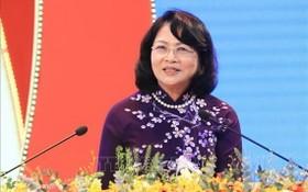 國家副主席鄧氏玉盛。(圖源:越通社)