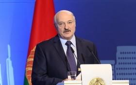 白俄羅斯總統盧卡申科。(圖源:新華社)