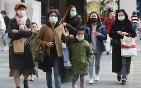 疫情期間,台灣實施實名制買口罩。(圖源:AP)