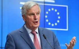 """歐盟負責英國""""脫歐""""談判首席代表巴尼耶。(圖源:AFP)"""