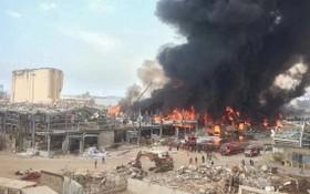 大火現場。(圖源:互聯網)