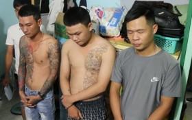 涉放高利貸犯罪的3名嫌犯被捕。(圖源:警方提供)
