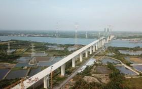濱瀝 - 隆城高速公路項目當前還有46家民戶尚未達成場地清拆補償協議。(圖源:T.Tr)