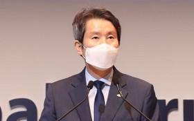 韓國統一部長官李仁榮。(圖源:韓聯社)