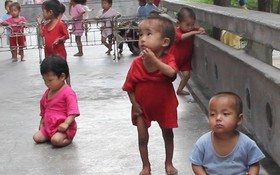 每百名兒童中有25名兒童因營養不良患矮小症。(示意圖源:N.H)