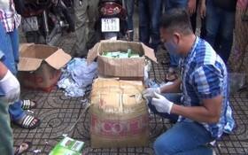從柬埔寨運載至本市的47公斤毒品已被公安沒收。