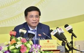 國會秘書長、辦公廳主任阮幸福。(圖源:Quochoi.vn)