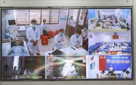 大水鑊醫院遠程診治病中心於昨(23)日正式投入活動。(圖源:越通社)