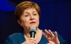 國際貨幣基金組織(IMF)總裁格奧爾基耶娃。(圖源:Sputnik)
