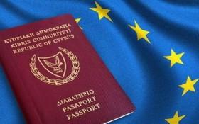 圖為塞浦路斯黃金護照。(圖源:互聯網)