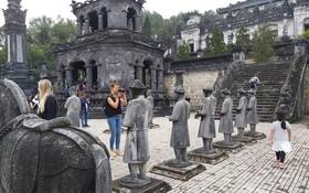 目前峴港市的各旅遊景點、旅遊服務已恢復正常活動。(圖源:互聯網)