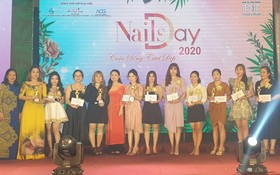 kelly pang美甲培訓中心向11名美甲獲獎者頒發獎項