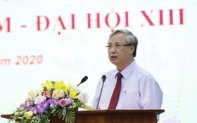 黨中央政治局委員、黨中央書記處常務書記陳國旺在典禮上致詞。(圖源:PV)