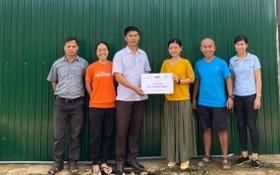 平仙公司向達農省少數民族贈送淨水工程