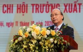 政府總理阮春福出席大會並發表指導意見。(圖源:光孝)