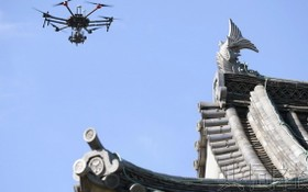 日本文化廳最快將在下年度啟動由人工智能(AI)檢查城樓、寺院、古民宅等木製建築老化情況的系統試運用。(圖源:共同社)