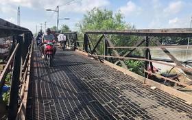 位於芽皮縣黎文良街的隆景橋已經老舊不堪,難以確保交通安全。