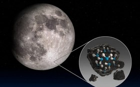 首次探測有水分存在。(圖源:NASA)