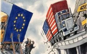 當地時間26日,世界貿易組織(WTO)正式批准歐盟對40億美元美國商品徵收關稅。(示意圖源:互聯網)