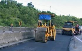 碎石瀝青鋪設路面。(圖源:春兆)