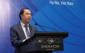 外交部副部長阮國勇在會上致詞。(圖源:越通社)