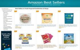 若干國貨熱銷品牌現已跨境亮相在亞馬遜電商平台上。