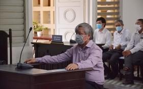 出庭受審的被告人黎清廉。(圖源:K.Q)