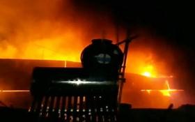 火警現場。(圖源:PLO)