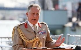英軍總參謀長尼克‧卡特。(圖源:互聯網)